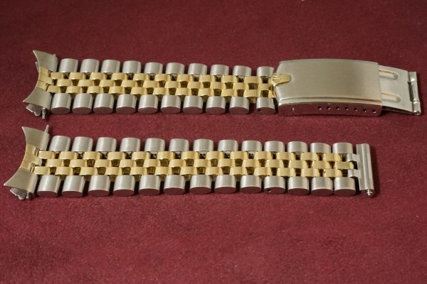 ロレックス デイトジャスト Ref-1601 SS×YG Matte Black Dial Guarantee(RO-63/1969年)の詳細写真9枚目