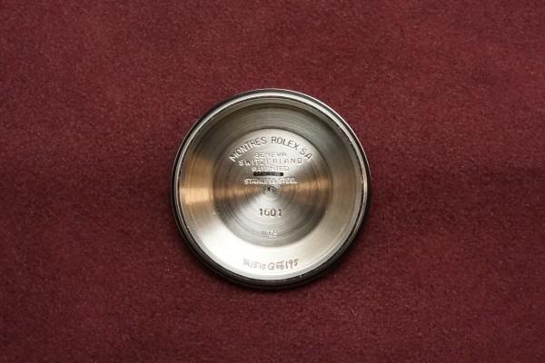 ロレックス デイトジャスト Ref-1601 SS×YG Matte Black Dial Guarantee(RO-63/1969年)の詳細写真11枚目