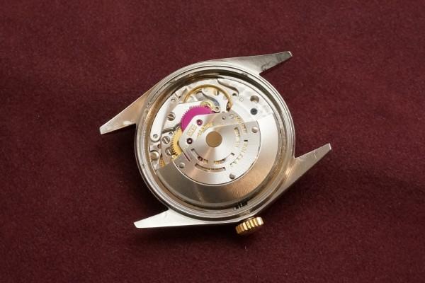 ロレックス デイトジャスト Ref-1601 SS×YG Matte Black Dial Guarantee(RO-63/1969年)の詳細写真12枚目