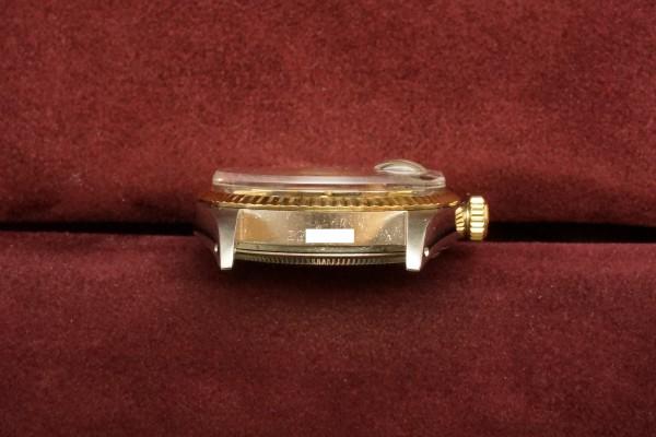 ロレックス デイトジャスト Ref-1601 SS×YG Matte Black Dial Guarantee(RO-63/1969年)の詳細写真14枚目