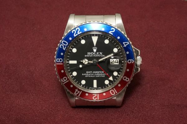 ロレックス GMTマスター Ref-1675 Matte Dial(RS-06/1977年)の詳細写真2枚目