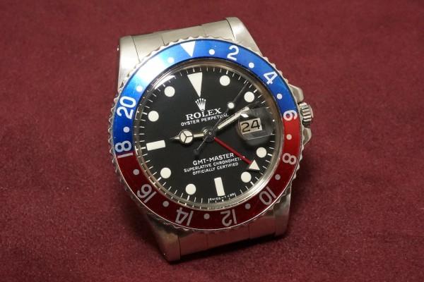 ロレックス GMTマスター Ref-1675 Matte Dial(RS-06/1977年)の詳細写真4枚目