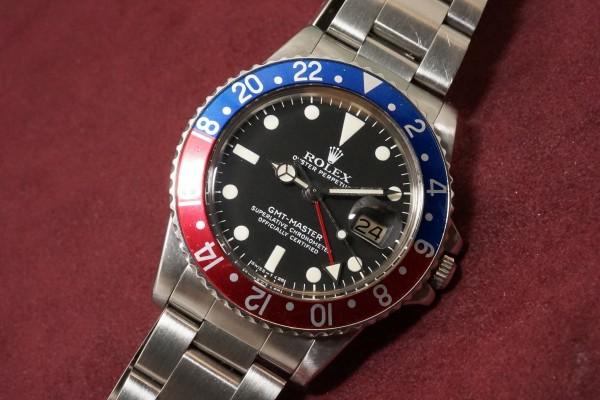 ロレックス GMTマスター Ref-1675 Matte Dial(RS-06/1977年)の詳細写真5枚目
