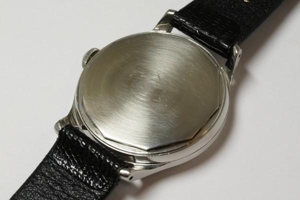 MOVADO Borgel Case Blue Breguet numerals dial Rare(OT-03/1940s)の詳細写真14枚目