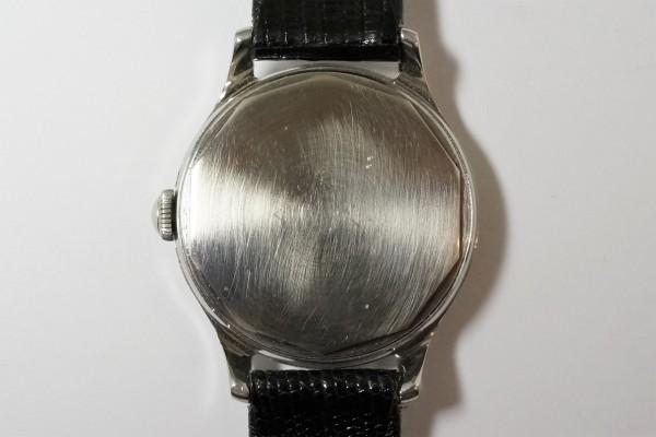 MOVADO Borgel Case Blue Breguet numerals dial Rare(OT-03/1940s)の詳細写真16枚目
