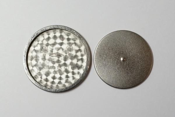 MOVADO Borgel Case Blue Breguet numerals dial Rare(OT-03/1940s)の詳細写真18枚目