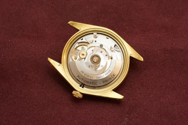 チュードル PRINCE OYSTERDATE Ref-9050/1 GF Case&Mirror Dial(RO-64/1969年)の詳細写真9枚目