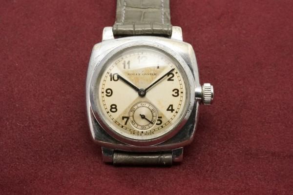 ロレックス OYSTER CUSHION Case CRISS CROSS Dial(RO-73/1930s)の詳細写真2枚目