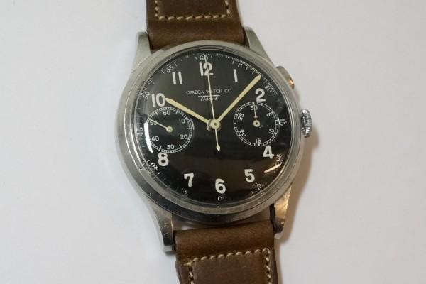 オメガ WATCH CO ティソ クロノグラフ Cal.15TL(CH-01/1930s)の詳細写真2枚目