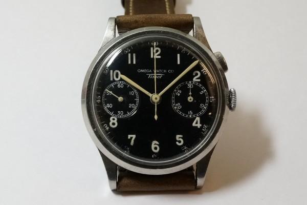オメガ WATCH CO ティソ クロノグラフ Cal.15TL(CH-01/1930s)の詳細写真4枚目