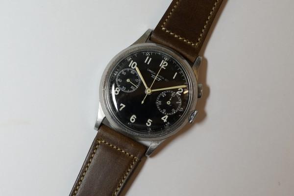オメガ WATCH CO ティソ クロノグラフ Cal.15TL(CH-01/1930s)の詳細写真5枚目