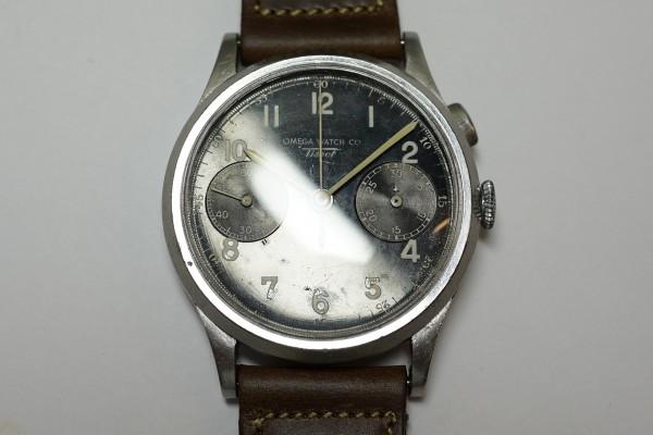 オメガ WATCH CO ティソ クロノグラフ Cal.15TL(CH-01/1930s)の詳細写真6枚目