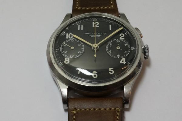 オメガ WATCH CO ティソ クロノグラフ Cal.15TL(CH-01/1930s)の詳細写真9枚目