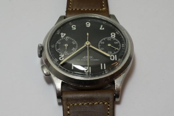 オメガ WATCH CO ティソ クロノグラフ Cal.15TL(CH-01/1930s)の詳細写真10枚目
