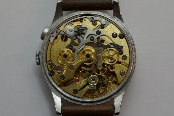 オメガ WATCH CO ティソ クロノグラフ Cal.15TL(CH-01/1930s)の詳細写真16枚目