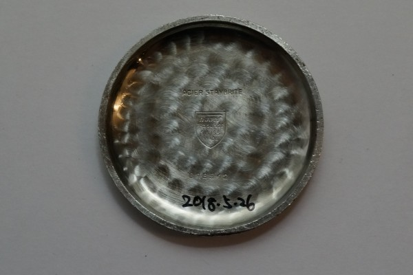 オメガ WATCH CO ティソ クロノグラフ Cal.15TL(CH-01/1930s)の詳細写真17枚目