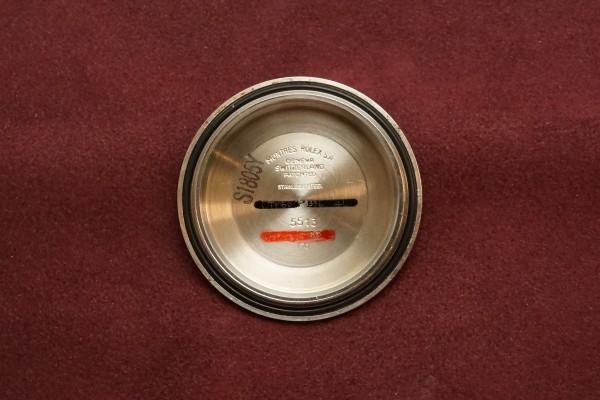 ロレックス サブマリーナ Ref-5513 Feetfirst Pumpkin Dial(RS-01/1970年)の詳細写真11枚目