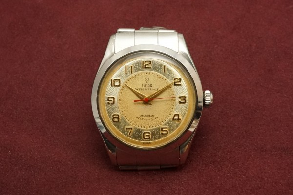 チュードル OYSTER PRINCE Ref-7965 Small Rose All Arabic Dial(RO-77/1959年)の詳細写真2枚目