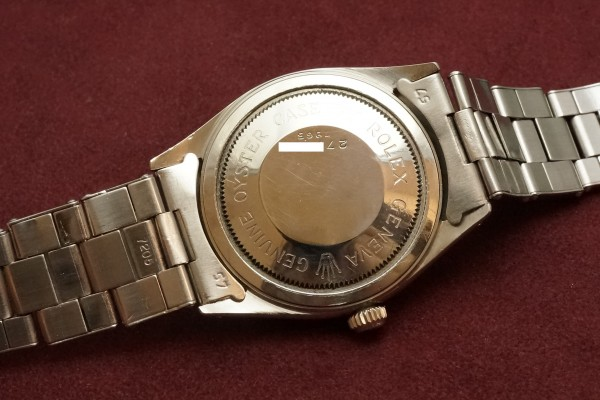チュードル OYSTER PRINCE Ref-7965 Small Rose All Arabic Dial(RO-77/1959年)の詳細写真8枚目