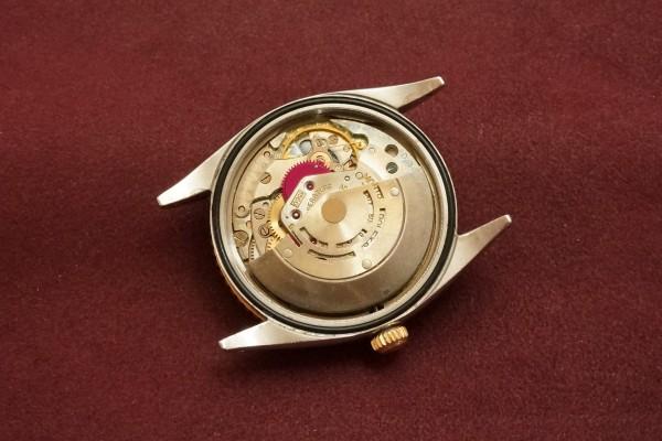 ロレックス デイトジャスト Ref-1625/5 SS×PG Thunderbird(RO-64/1960年)の詳細写真9枚目