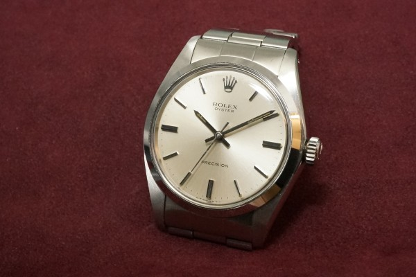 ロレックス OYSTER Ref-6426 Silver Dial・Unpolished Case MINT!(RO-78/1972年)の詳細写真3枚目