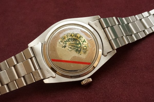ロレックス OYSTER Ref-6426 Silver Dial・Unpolished Case MINT!(RO-78/1972年)の詳細写真8枚目