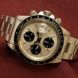 チュードル CHRONOTIME Ref-79160 BigBlock SilverDial Mint!