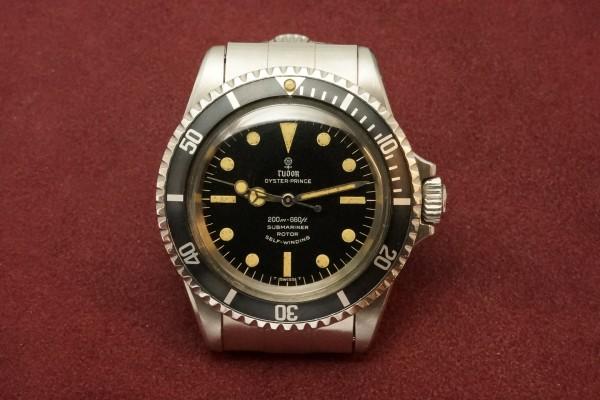 チュードル サブマリーナ Ref-7016/0 Small Rose Dial(RS-12/1968年)の詳細写真2枚目