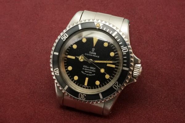 チュードル サブマリーナ Ref-7016/0 Small Rose Dial(RS-12/1968年)の詳細写真3枚目