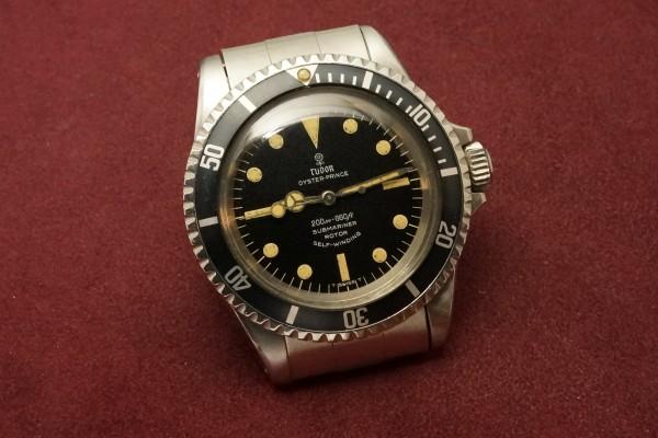 チュードル サブマリーナ Ref-7016/0 Small Rose Dial(RS-12/1968年)の詳細写真4枚目