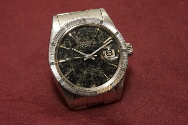 ロレックス OYSTER PERPETUAL -DATE- Ref-1501 Aging Gilt/Gloss Dial(RO-82/1967年)の詳細写真4枚目