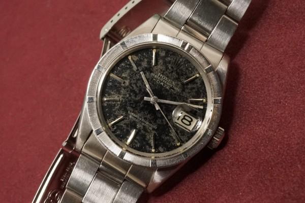 ロレックス OYSTER PERPETUAL -DATE- Ref-1501 Aging Gilt/Gloss Dial(RO-82/1967年)の詳細写真5枚目
