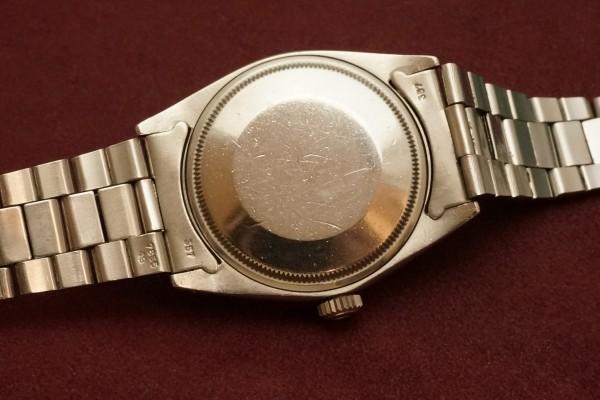 ロレックス OYSTER PERPETUAL -DATE- Ref-1501 Aging Gilt/Gloss Dial(RO-82/1967年)の詳細写真8枚目