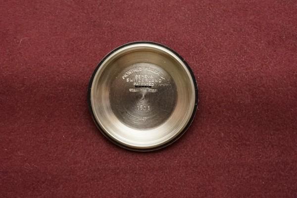 ロレックス OYSTER PERPETUAL -DATE- Ref-1501 Aging Gilt/Gloss Dial(RO-82/1967年)の詳細写真11枚目