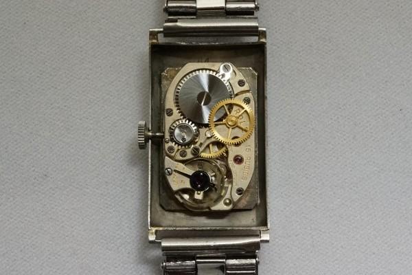 """ロレックス """"BEYER"""" Ref-2149 Rectangle Sector Dial(RO-03/1930s)の詳細写真12枚目"""