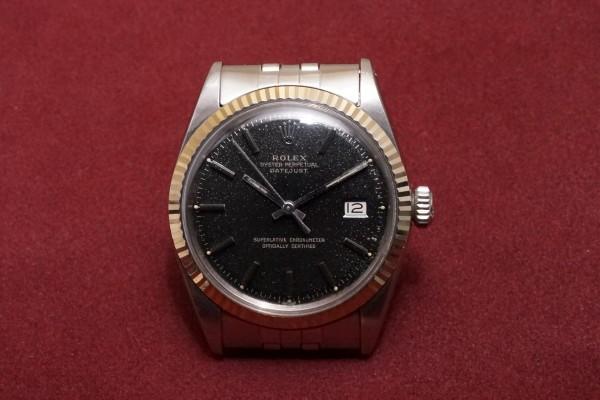 ロレックス デイトジャスト Ref-1601 Glaxy Gilt Dial(RO-48/1966年)の詳細写真2枚目