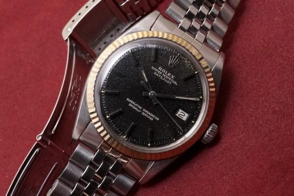 ロレックス デイトジャスト Ref-1601 Glaxy Gilt Dial(RO-48/1966年)の詳細写真3枚目