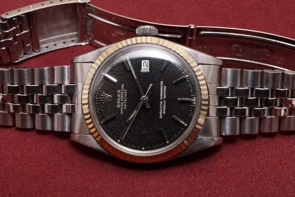 ロレックス デイトジャスト Ref-1601 Glaxy Gilt Dial(RO-48/1966年)の詳細写真4枚目