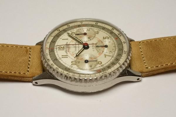 BREITLING CHRONOMAT 1ST REF.786 KRONOMETER STOCKHOLM  3 REGISTER RARE(CH-01/1945年)の詳細写真7枚目