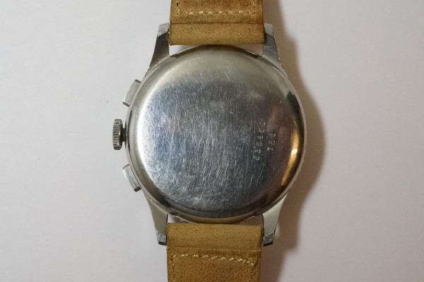BREITLING CHRONOMAT 1ST REF.786 KRONOMETER STOCKHOLM  3 REGISTER RARE(CH-01/1945年)の詳細写真14枚目