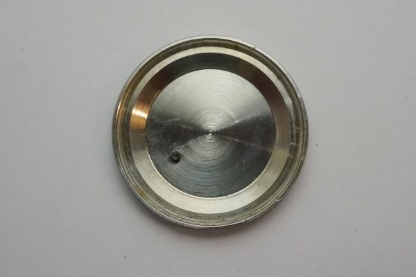 VULCAIN CRICKET ALARM BLACK GILT SECTOR DIAL STEEL(OT-01/1940s)の詳細写真17枚目