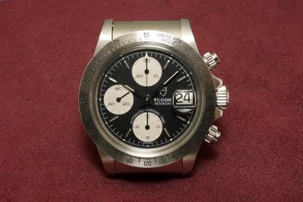 チュードル CHRONOTIME BIG BLOCK Ref-79180 BlackDial(TS-05/1989年)の詳細写真2枚目