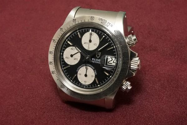 チュードル CHRONOTIME BIG BLOCK Ref-79180 BlackDial(TS-05/1989年)の詳細写真3枚目