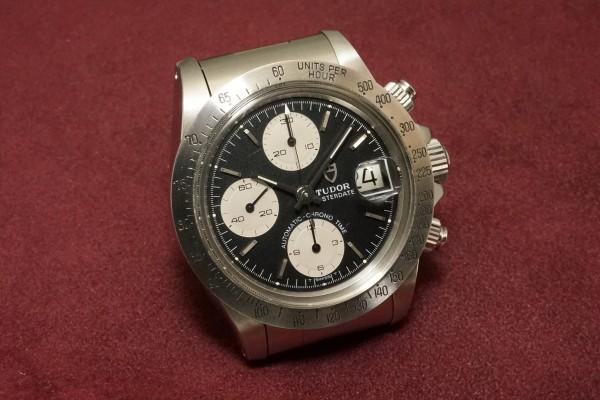 チュードル CHRONOTIME BIG BLOCK Ref-79180 BlackDial(TS-05/1989年)の詳細写真4枚目