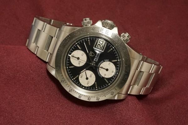 チュードル CHRONOTIME BIG BLOCK Ref-79180 BlackDial(TS-05/1989年)の詳細写真1枚目