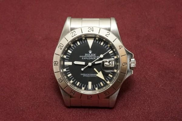 ロレックス EXPLORERⅡ Ref-1655 Mark-2 Dial・Mark-3 Bezel Albino!(RS-44/1973年)の詳細写真2枚目