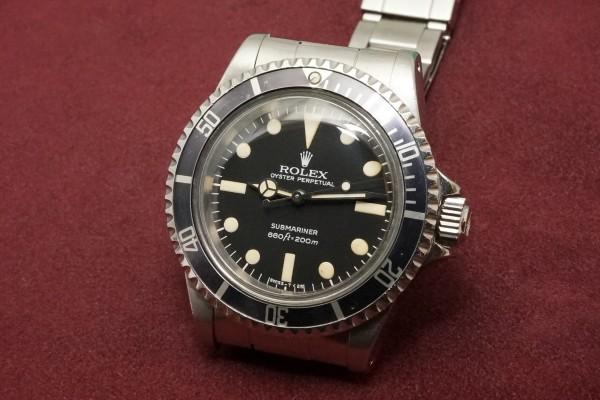 ロレックス サブマリーナ Ref-5513 MAXI Mark-2 Dial(RS-56/1978年)の詳細写真3枚目