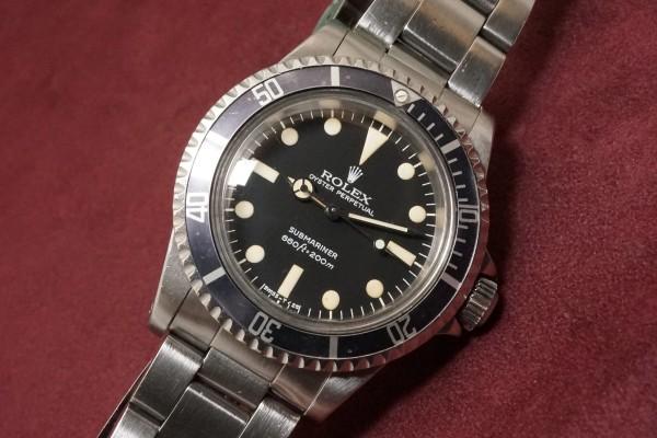 ロレックス サブマリーナ Ref-5513 MAXI Mark-2 Dial(RS-56/1978年)の詳細写真5枚目