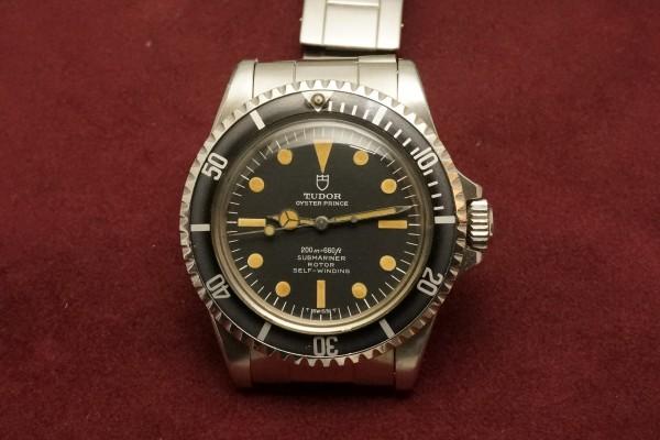 チュードル サブマリーナ Ref-7928 Pumpkin Dial(RS-57/1967年)の詳細写真2枚目