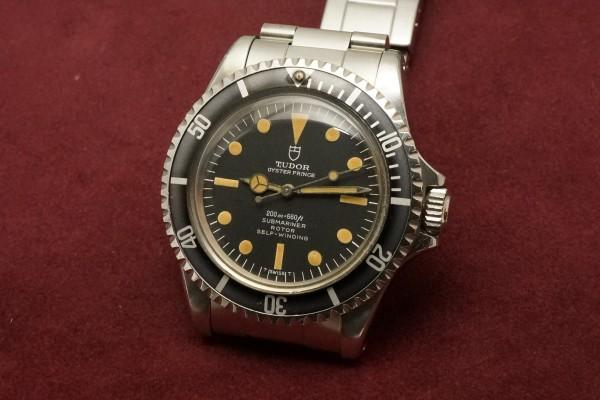 チュードル サブマリーナ Ref-7928 Pumpkin Dial(RS-57/1967年)の詳細写真3枚目